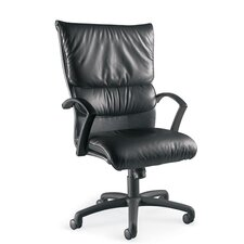 Carrara High-Back Leather Executive Chair