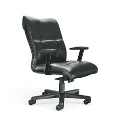 <strong>La-Z-Boy</strong> Orians Modern Mid-Back Office Chair with Arms