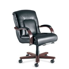 <strong>La-Z-Boy</strong> Sintas Mid-Back Office Chair with Arms