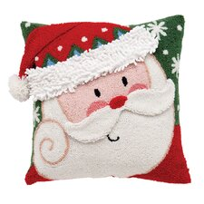Santa 3D Hooked Pillow