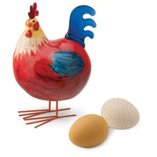 Bobble Rooster Figurine