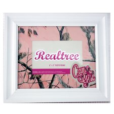 """Realtree Ap """"Camo Girl"""" Wood Picture Frame"""