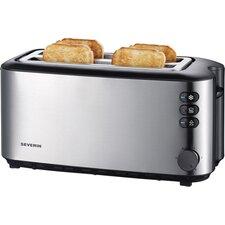 Toaster 4 Scheiben in Schwarz