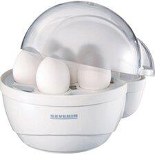 400W Antihaft-Eierkocher in Weiß