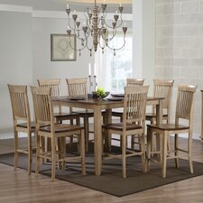 <strong>Sunset Trading</strong> Brookdale 9 Piece Counter Height Dining Set