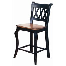 "Cabernet 24"" 3X Back Cafe Chair"