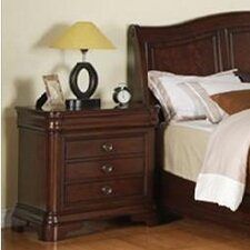 Cameron 3 Drawer Nightstand
