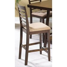 "Casual Dining Sky 24"" Bar Stool with Cushion"