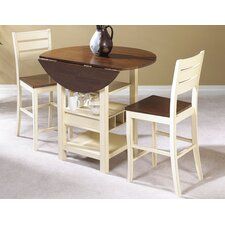 Casual Dining Cascade Pub Table with Optional Stools