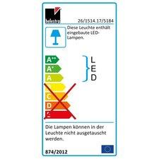 LED-Pendelleuchte 2-flammig Rucca