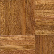 "Urethane Parquet 12"" Solid Oak Flooring in Honey"