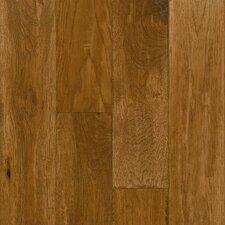 "American Scrape Hardwood 5"" Solid Hickory Flooring in Clover Honey"