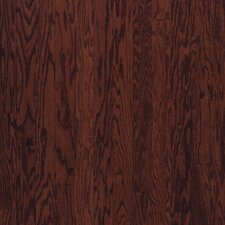 "<strong>Armstrong</strong> Beckford Plank 3"" Engineered Red Oak Flooring in Cherry Spice"