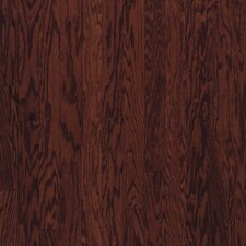 "Beckford Plank 5"" Engineered Red Oak Flooring in Cherry Spice"