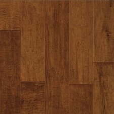 "Century Farm Hand-Sculpted 5"" Engineered Maple Flooring in Burnt Almond"