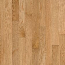"Kingsford Strip 2-1/4"" Solid Red Oak Flooring in Natural"