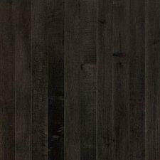 "Sugar Creek Plank 3-1/4"" Solid Maple Flooring in Midnight"