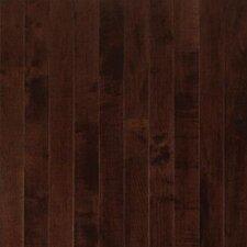 "Sugar Creek 2-1/4"" Solid Maple Flooring in Cocoa Brown"