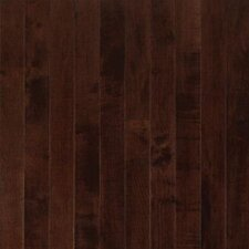 "Sugar Creek Strip 2-1/4"" Solid Maple Flooring in Cocoa Brown"