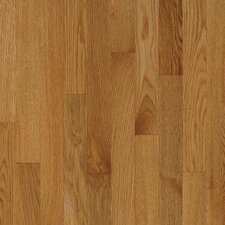 "Kingsford Strip 2-1/4"" Solid White Oak Flooring in Sahara"