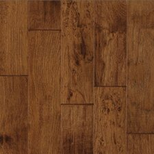 "Century Farm Hand-Sculpted 5"" Engineered Hickory Flooring in Tumbleweed"