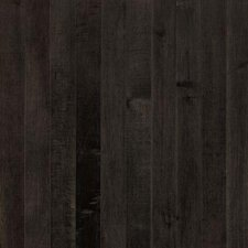 "Sugar Creek Strip 2-1/4"" Solid Maple Flooring in Midnight"