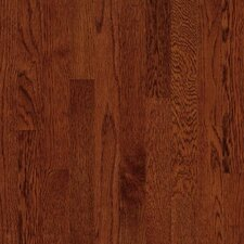 "<strong>Armstrong</strong> Kingsford Strip 2-1/4"" Solid White Oak Flooring in Cherry"