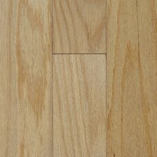 "Fifth Avenue Plank 5"" Engineered Red Oak Flooring in Chablis"
