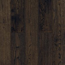 "Gatsby Hand-Sculpted 5"" Solid White Oak Flooring in Tudor Brown"