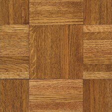 "<strong>Armstrong</strong> Urethane Parquet 12"" Solid Oak Flooring in Honey"