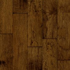 "<strong>Armstrong</strong> Century Farm 5"" Hand-Sculpted Engineered Hickory Flooring in Turned Earth"