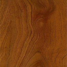 "Luxe Exotic Fruitwood 4.5"" x 48"" Vinyl Plank in Persimmon"