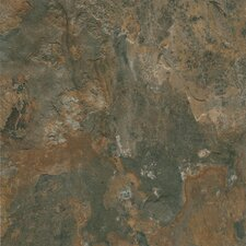 "Alterna Mesa Stone 16"" x 16"" Vinyl Tile in Canyon Shadow"