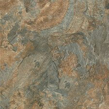 "Alterna Mesa Stone 16"" x 16"" Vinyl Tile in Canyon Sun"