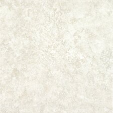 "Alterna Multistone 16"" x 16"" Vinyl Tile in White"