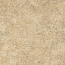 "Alterna Multistone 16"" x 16"" Vinyl Tile in Cream"