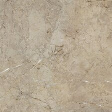 "Alterna La Plata 16"" x 16"" Vinyl Tile in Taupe/Gray"