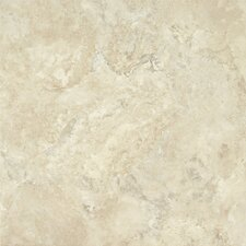 "Alterna Durango 16"" x 16"" Vinyl Tile in Cream"