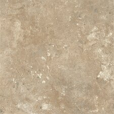 "Alterna Aztec Trail 16"" x 16"" Vinyl Tile in Almond Cream"