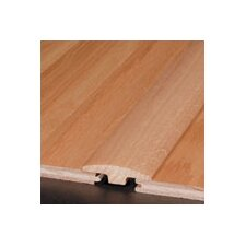 """0.25"""" x 2"""" Red Oak T-Molding in Chestnut, Gunstock, Nutmeg"""