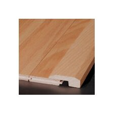 """0.63"""" x 2"""" Red Oak Threshold in Natural"""