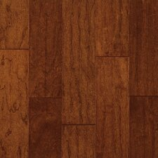 "Century Farm Hand-Sculpted 5"" Engineered Cherry Flooring in Bronze"