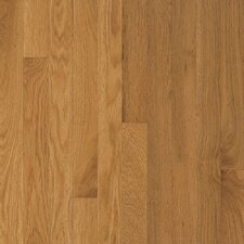 "Somerset Strip 2-1/4"" Solid White Oak Flooring in Large Maize"