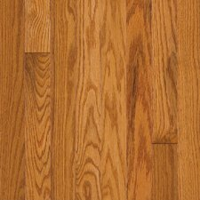 "Somerset Plank 3-1/4"" Solid Oak Flooring in Large Praline"