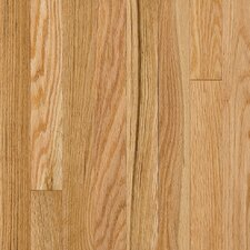 "Somerset Plank 3-1/4"" Solid Oak Flooring in Large Natural"