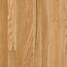 "Somerset Strip 2-1/4"" Solid Oak Flooring in Large Natural"