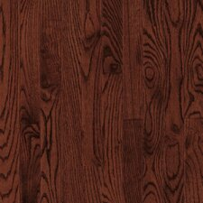 "<strong>Armstrong</strong> Yorkshire Plank 3-1/4"" Solid White Oak Flooring in Cherry Spice"