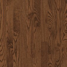 "Yorkshire Strip 2-1/4"" Solid White Oak Flooring in Umber"