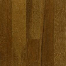"Performance Plus 5"" Acrylic-Infused Engineered Hickory Flooring in Chocolate Cosmos"