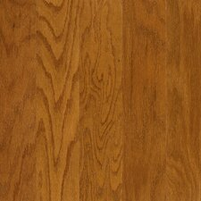 "Performance Plus 5"" Acrylic-Infused Engineered Red Oak Flooring in Bronze Tone"